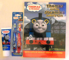Thomas & Friends/Fireman Sam Activity Book Pack, Toothbrushes & Toothpaste Set