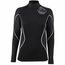 Gill Womens Thermoskin Wetsuit Top - Black