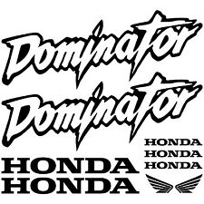 HONDA DOMINATOR. pegatina, decal, aufkleber, sticker, vinilo, vinyl, 23 colours.