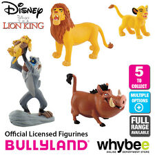Official Bullyland Disney The Lion King Figurines 5 Cake Topper Figures to Choos