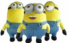 PELUCHE GIGANTE MINIONS CATTIVISSIMO ME 60 CM MOVIE ORIGINALE TIM DAVE
