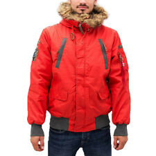 ALPHA INDUSTRIES - Jacke/Herrenjacken/Winterjacken - MOUNTAIN JACKET - red