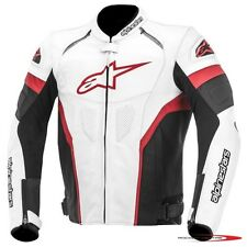 ALPINESTARS GP PLUS R LEATHER MOTORCYCLE JACKET SPORTS TOURING ASTARS RED PROTEC
