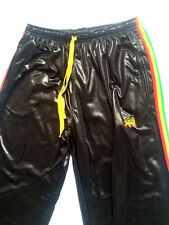 chile shiny wet look glanz  sexy  rasta jamaica sport Pants cal surf nylon NEW