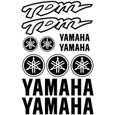 YAMAHA TDM. pegatina, decal, aufkleber, sticker, vinilo, vinyl. 23 colours