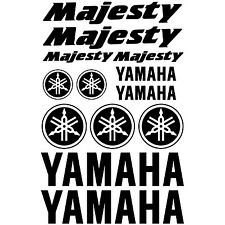 YAMAHA MAJESTY. pegatina, decal, aufkleber, sticker, vinilo, vinyl. 23 colours