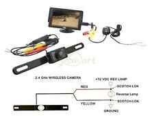 4.3 Inch LCD Car Rear View Monitor OR Wireless Backup CMOS 170 Reverse Camera