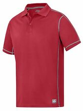 Snickers Workwear 2711 AVS T-Shirt Snickers Polo Shirt Mens SnickersDirect Red