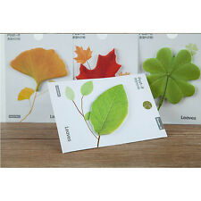 Leaves Shape Leaf Novelty Sticky Notes Sticker Marker Memo Notepad