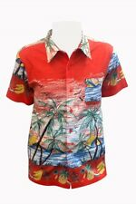 Banned Palm Shirt Hawaii 50s Rockabilly Vintage Retro Holiday Beach XS S M L XL