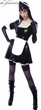 THE FEDERATION RUBBER LATEX MAID UNIFORM WITH HEAD WEAR  & APRON