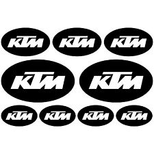 KTM. pegatina, decal, aufkleber, sticker, vinilo, vinyl. 23 colours