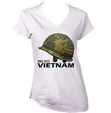 VIETNAM WAR USA HELMET - NEW AMAZING GRAPHIC TSHIRT- S-M-L-XL-XXL