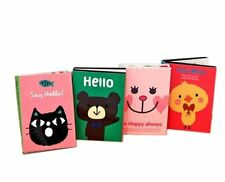 180 Sheets 9 Styles In 1 Cute Animal Sticky Notes Set Sticker Marker Memo Pad