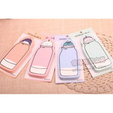 Cute Drinking Milk Bottle Toddler Doll Sticky Notes Sticker Marker Memo Note Pad