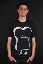 CLEPTOMANICX GIGA TOAST HEATHER BLACK T-SHIRT