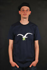 CLEPTOMANICX LEAF MÖWE DARK NAVY T-SHIRT