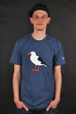 CLEPTOMANICX T-SHIRT GULL HEATHER BLUE FREIZEIT HERREN SHORTSLEEVE CREWNECK TEE
