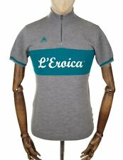 LE COQ SPORTIF MEN'S L'EROICA CYCLING REPLICA JERSEY - GREY TOUR DE FRANCE