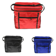 Small Insulated Cooler Cool & Thermo Lunch Bag for Picnic Camping Red/Black/Blue