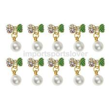 Assorted design 3D Nail Art Alloy Decoration Bling Rhinestone Charm Glitter Tips