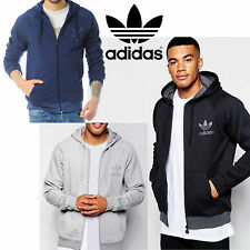 New Adidas Originals Sports Essential Tracksuit Hoodie Track Bottoms Fleece