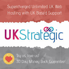 Supercharged UK Unlimited Web Hosting - 1, 2 or 3 Years