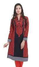 Indian Ethnic Pure rayon Designer Printed Casual Wear Kurti Kurta VI_2504