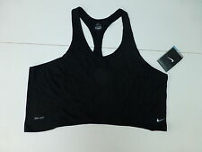 Nike Women's Training Dri-fit Side Spin Vest Top - Black  REDUCED IN PRICE!