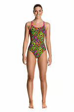 Funkita Skull Keeper Diamond Back One Piece Swimsuit. Funkita Swimwear. Funkita