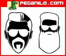 ADHESIVO PEGATINA VINILO STICKER AUFKLEBER DECAL CARAS MONKEY FACE