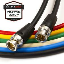 Neutrik BNC to BNC Lead. Van Damme 75ohm Plasma Coax Cable. CCTV Video SPDIF