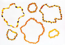 genuine baltic amber/succinic acid baby teething bracelet and necklace hand made