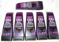 6 X ORIGINAL SOURCE PLUM & BLACKCURRANT SHOWER GEL 250ML  JOBLOT