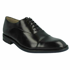 SWINLEY CAP MENS CLARKS FORMAL LACE UP TOE CAP LEATHER DRESS WORK OFFICE SHOES