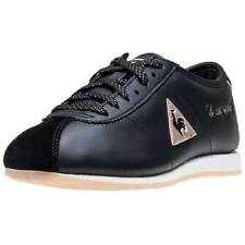 LE Coq Sportif Wendon W Sparkly Womens Trainers Black Gold New Shoes