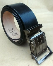 REAL 100% GENUINE LEATHER BLACK BRO BELT FOR MEN'S & FORMAL WEAR Amazing Quality