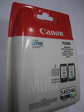 ORIGINAL  Multipack black color CANON PG-545 + CL-546 PIXMA MG2950 MG2550 iP2850