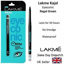 LAKME EYECONIC KAJAL PENCIL EYELINER -Waterproof, No Smudge,- 0.35g- Regal Green
