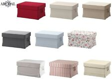 IKEA EKTORP Footstool Cover, in Various Colours, (Footstool Not Included)