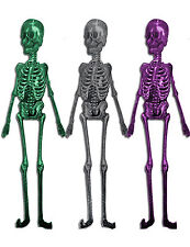 Halloween Large Jointed Skeleton Cutout Party Wall Decoration 1.5 metres