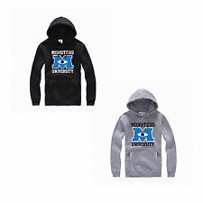 Monstruos Monsters University Mike Wazowski Sudadera Chaqueta con capucha Hoodie