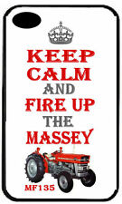 MASSEY FERGUSON 135 TRACTOR Keep Calm REAR COVER CASE for iPhone 6 5 4 plus iPod