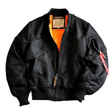 "Alpha Industries Hombre Chaqueta de aviador ""MA-1 VF 59 Larga 45635t PILOTO"