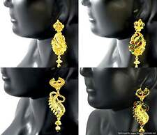 Gold Plated Earrings set Enamel Meenawork Beautiful Bollywood Designer Jewellery