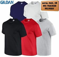 5 Pack Plain Blank Gildan 100% Heavy Cotton T-shirt  Multi Colors in Stock BN