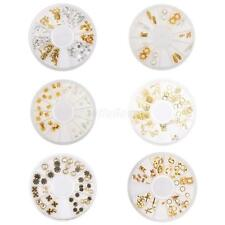 3D Nail Art Tips Glitter Rhinestone Jewelry DIY Craft Decoration Manicure Wheel
