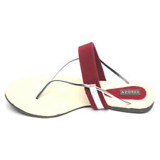 Azores Maroon Chic Sandals