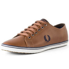 Fred Perry Kingston Herren Sneakers Tan Neu Schuhe