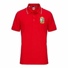 OFFICIAL British & Irish Lions 2017 NZ Polo - Red